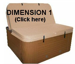 Spa Covers Dimension 1 Hot Tub